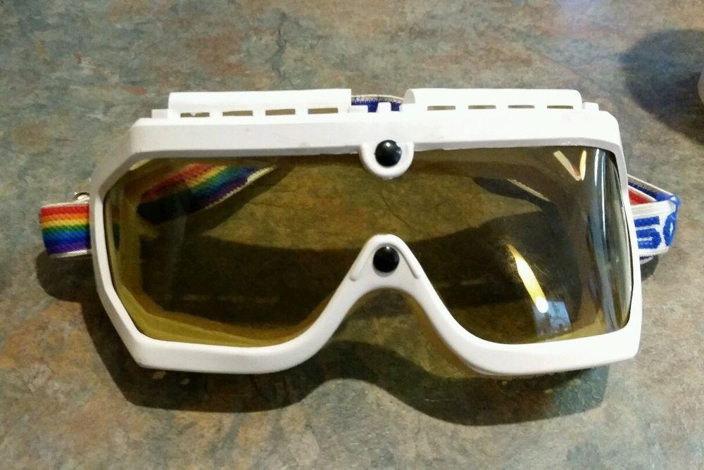 b07d514f883 Vintage Loubsol Loubayre Ski Goggles France in Sporting Goods