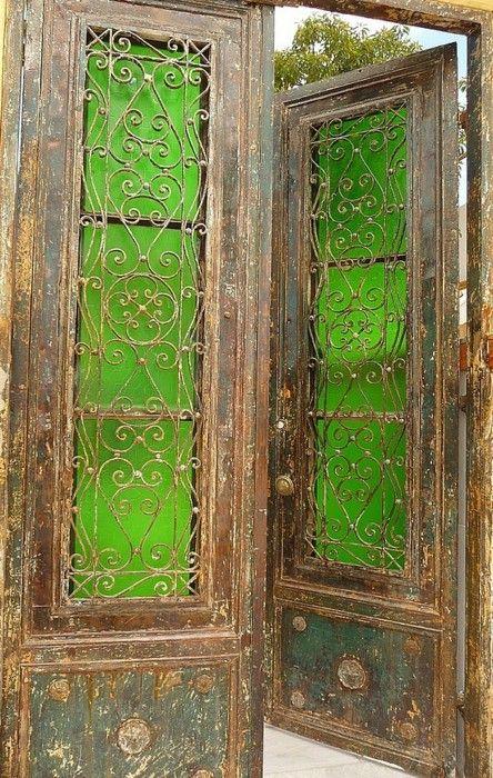 Going On A Trip Through The Green Glass Doors Doors Pinterest