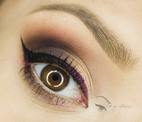 Lovely Neutrals with Purple Makeup geek, Makeup, Eye