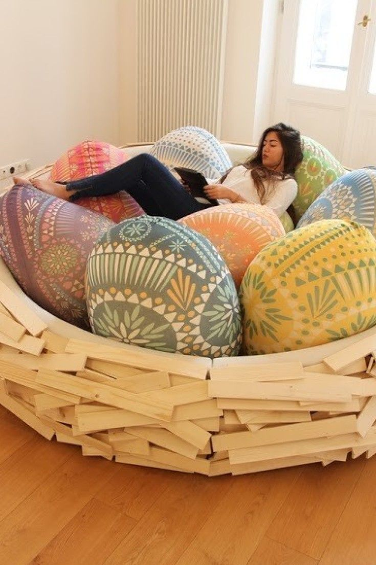 HumanSized Bird Nest Is An Eggcellent Place To Spend