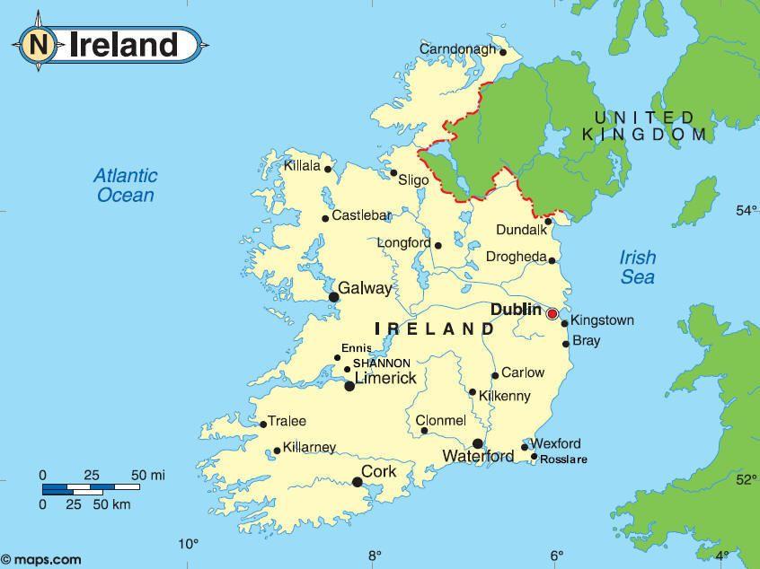 Image result for map of ireland Ireland Travels Pinterest Ireland
