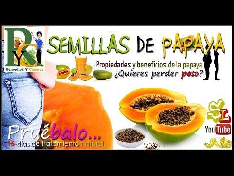 NO TIRES LAS SEMILLAS DE PAPAYA... SABES PORQUE? - YouTube