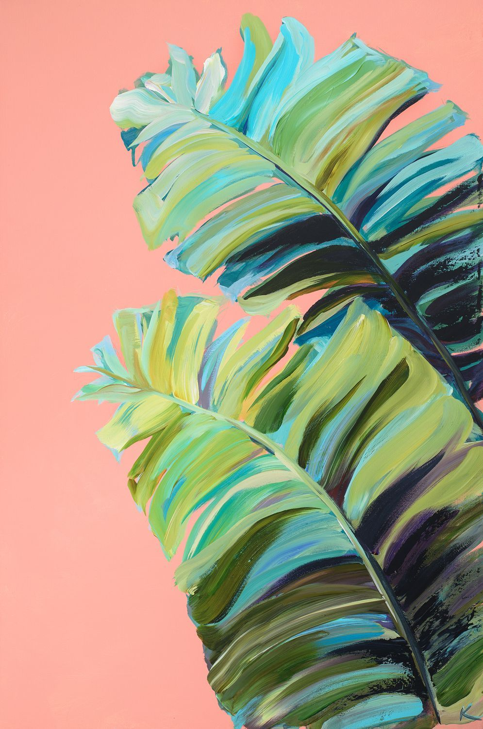 Krista Skehan's colourful paintings that collide with a love of California coastal cool