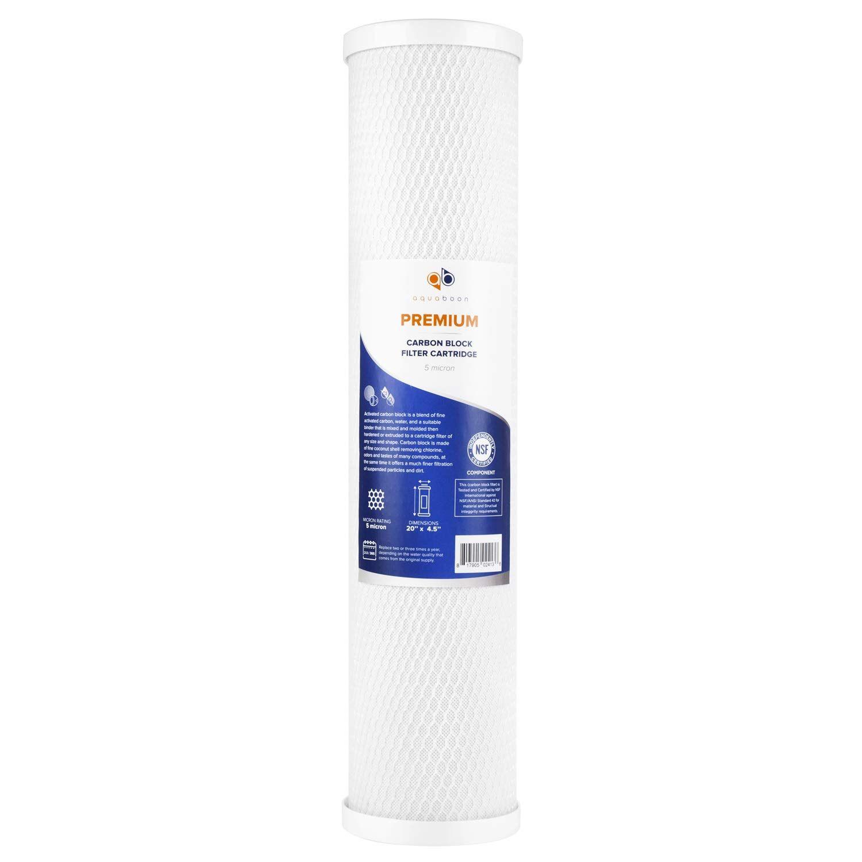 Aquaboon Premium Big Blue Coconut Shell Water Filter Cartridge