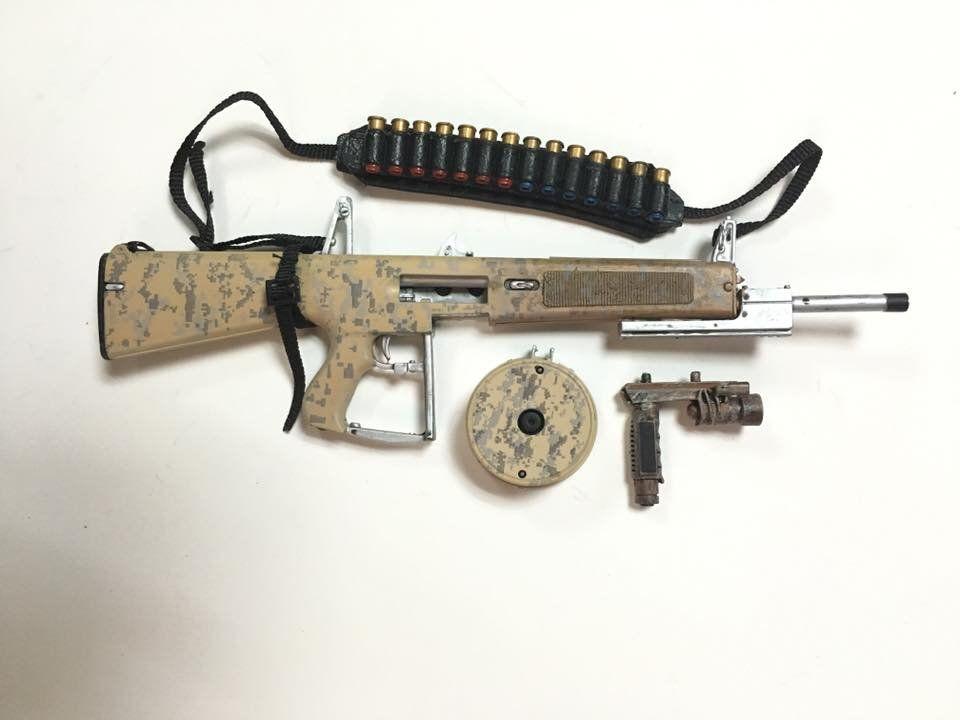 Black AR Muzzle Suppressor 1//6 Scale Toy SUPPRESSOR