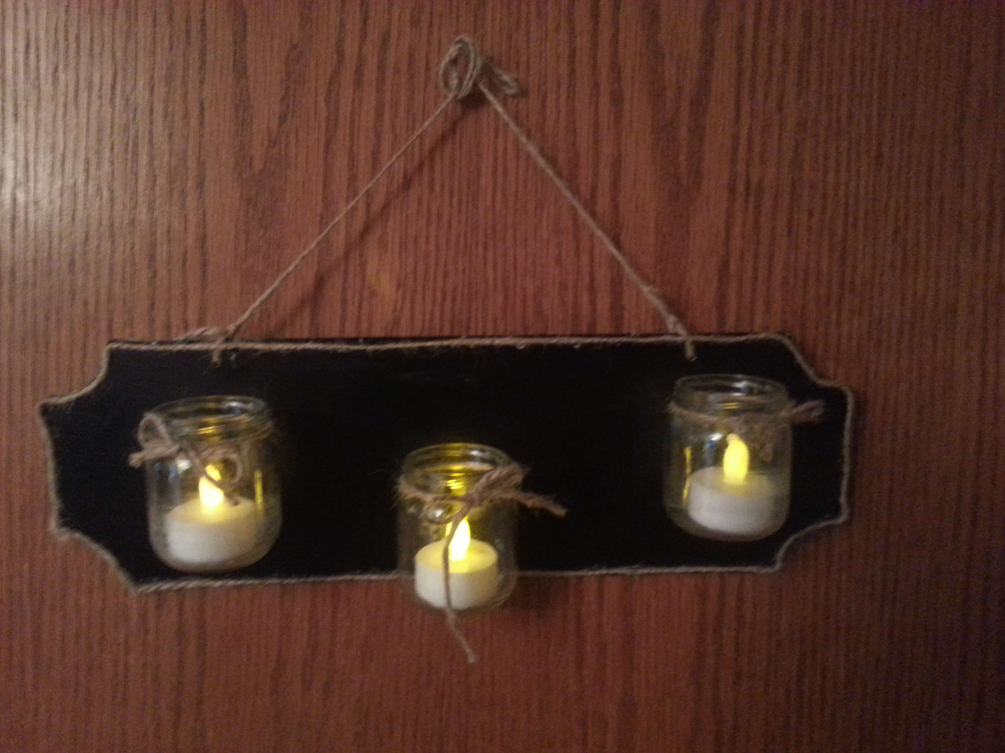 Handmade Candle Sconce Handmade Candles Candle Sconces Handmade