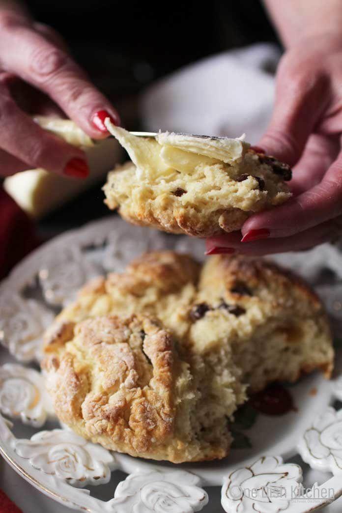 Irish Soda Bread with Butter | One Dish Kitchen | Soda ...