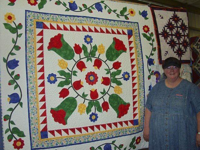 Barb brown and her original quilt made to help get through the ... : original quilts - Adamdwight.com