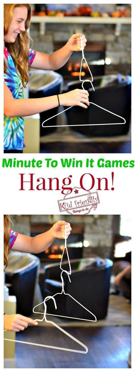 Awesome Minute To Win It Games that are Great for Kids, Teens and