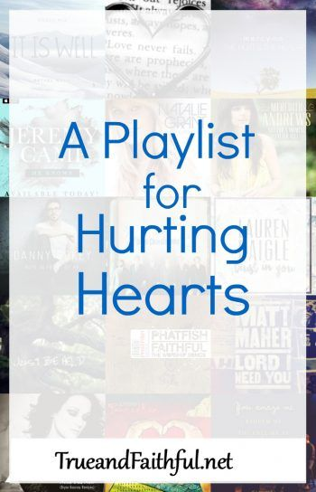 Songs about hurting someone you love