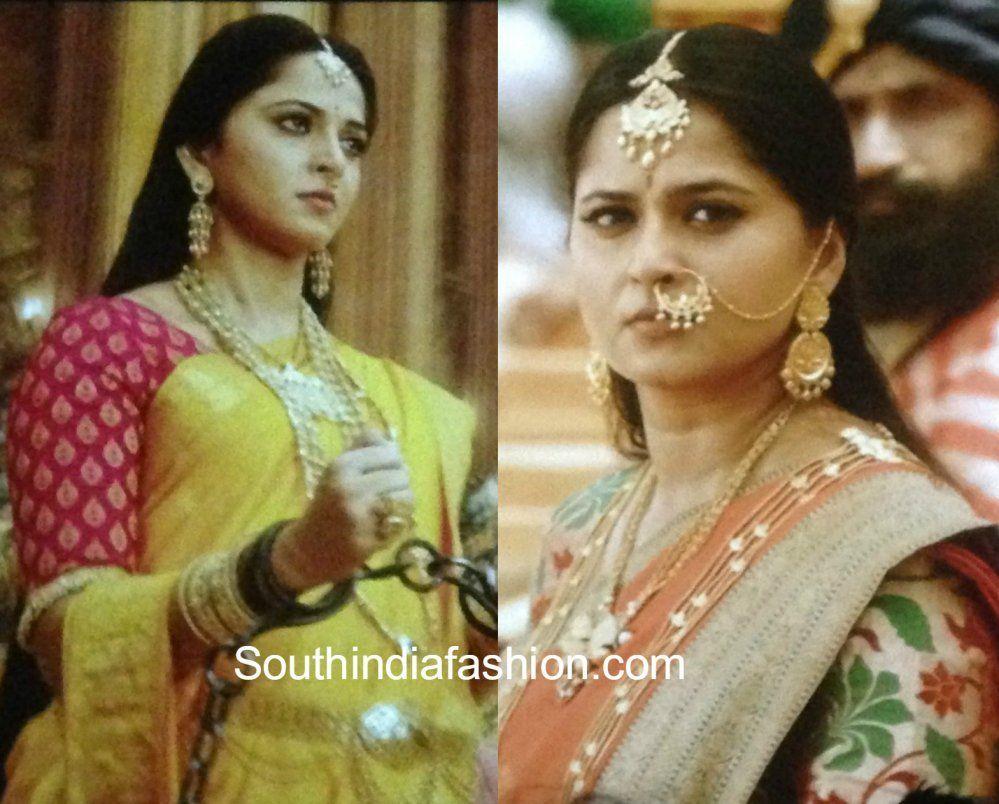 Anushka Shetty As Princess Devasena In Baahubali 2 The Conclusion Yellow Saree Saree Beautiful Saree