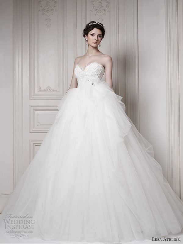Ersa Atelier Wedding Dresses 2013 — Make Way for the Queen Bridal ...