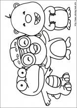 Pororo Coloring Pages On Coloring Book Info Coloring Pages Coloring Books Coloring Pictures