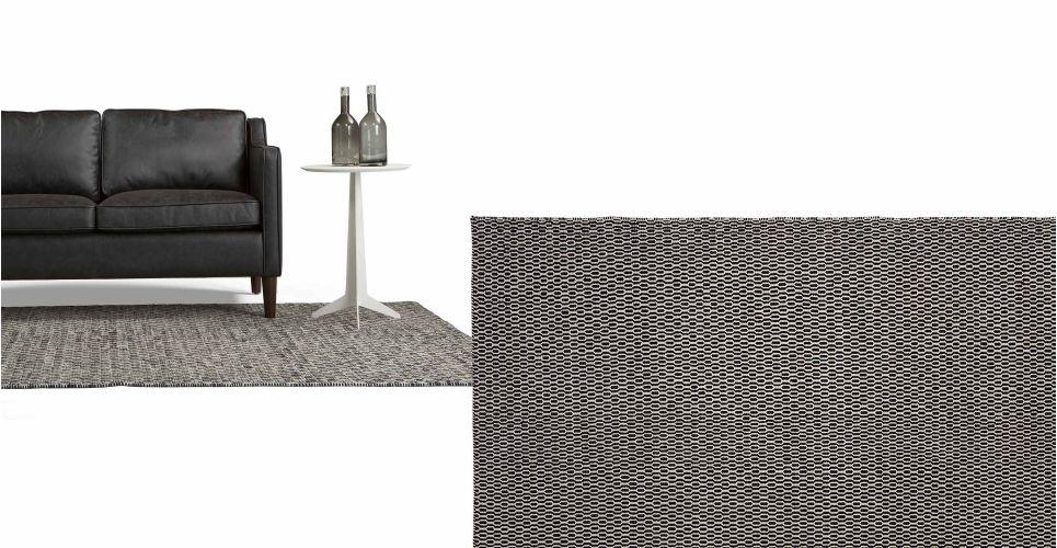 Badezimmerteppich Weiß ~ Dhurries isis teppich 170 x 240 cm schwarz und weiß made.com