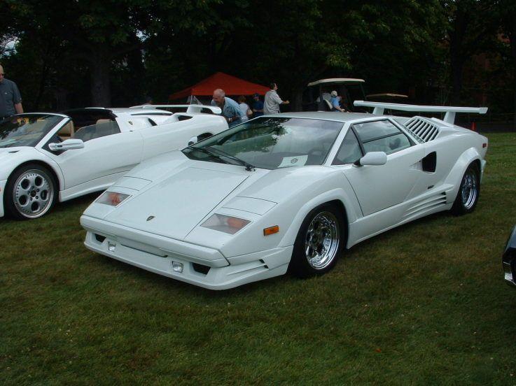 1989 Lamborghini 25th Anniversary Countach