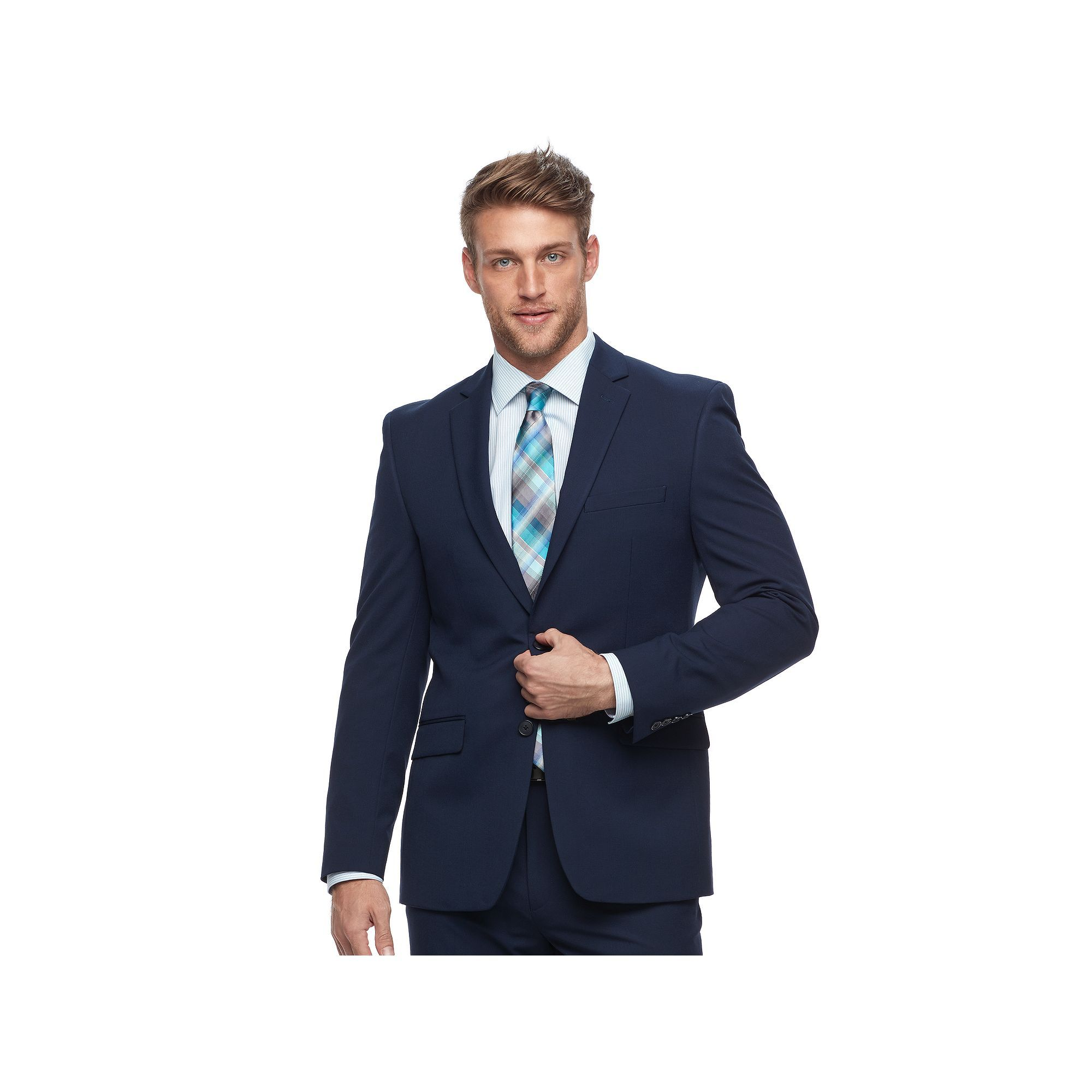 2f17d47d2e4f Men's Van Heusen Flex Slim-Fit Stretch Suit Jacket, Size: 40 - regular, Blue