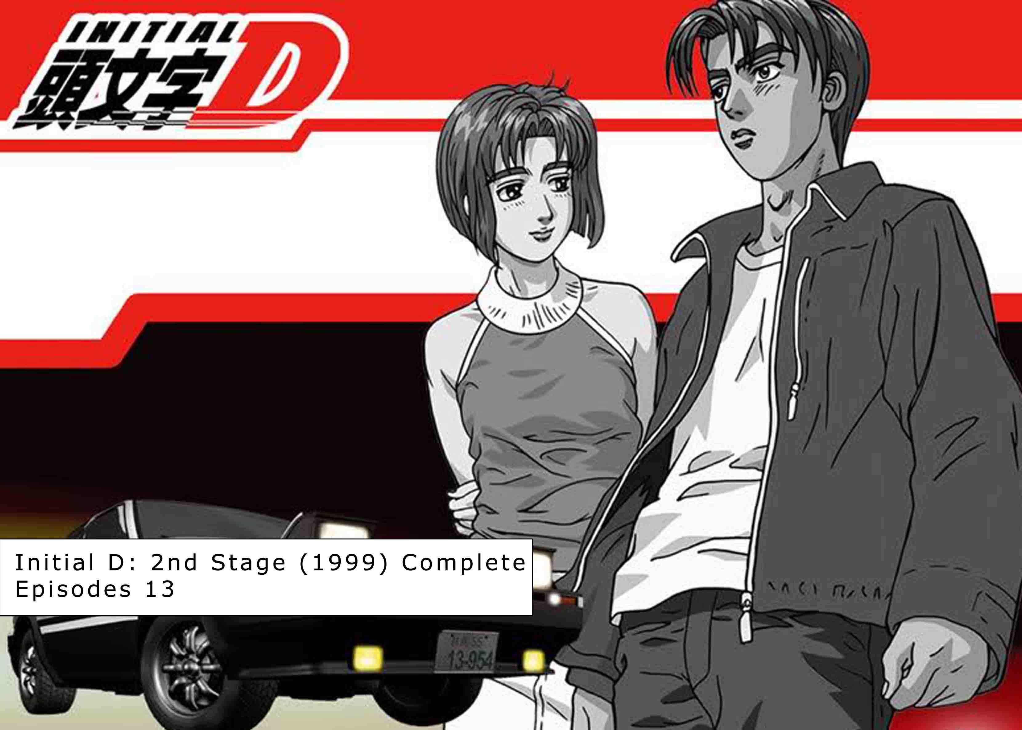 Initial D 2nd Stage Initial d fifth stage, Initial d