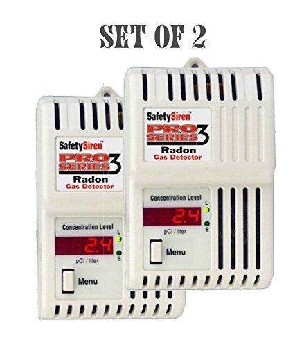 Set Of 2 Safety Siren Pro Series3 Radon Gas Detect Full Review Http Gopher Arvixe Com Reviews Set O Radon Gas Gas Detector Motion Sensor Lights Outdoor