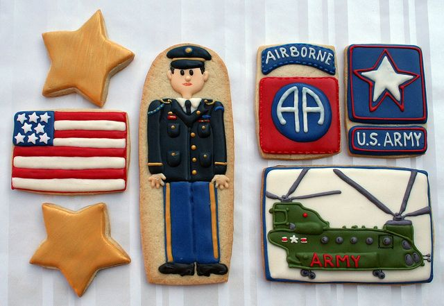 Army Cookies