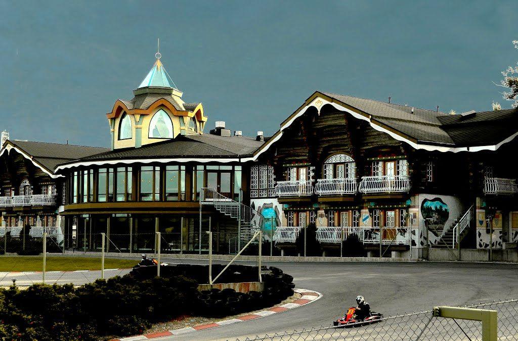 Powerpark Park Hotel Härmä. South Ostrobothnia province of Western Finland. - Etelä-Pohjanmaa, Alahärmä.