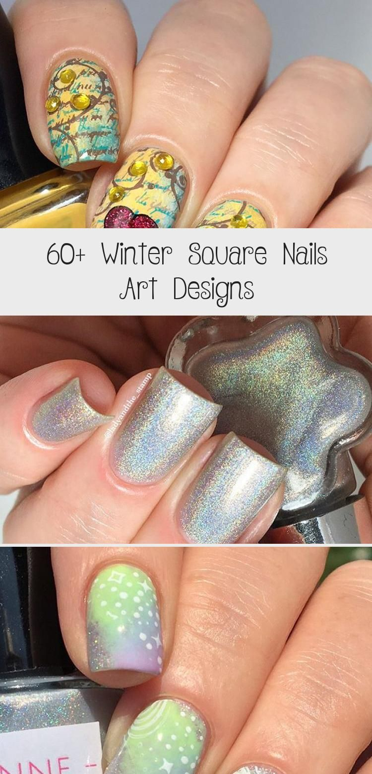Photo of 60+ Winter Square Nails Art Designs – ART