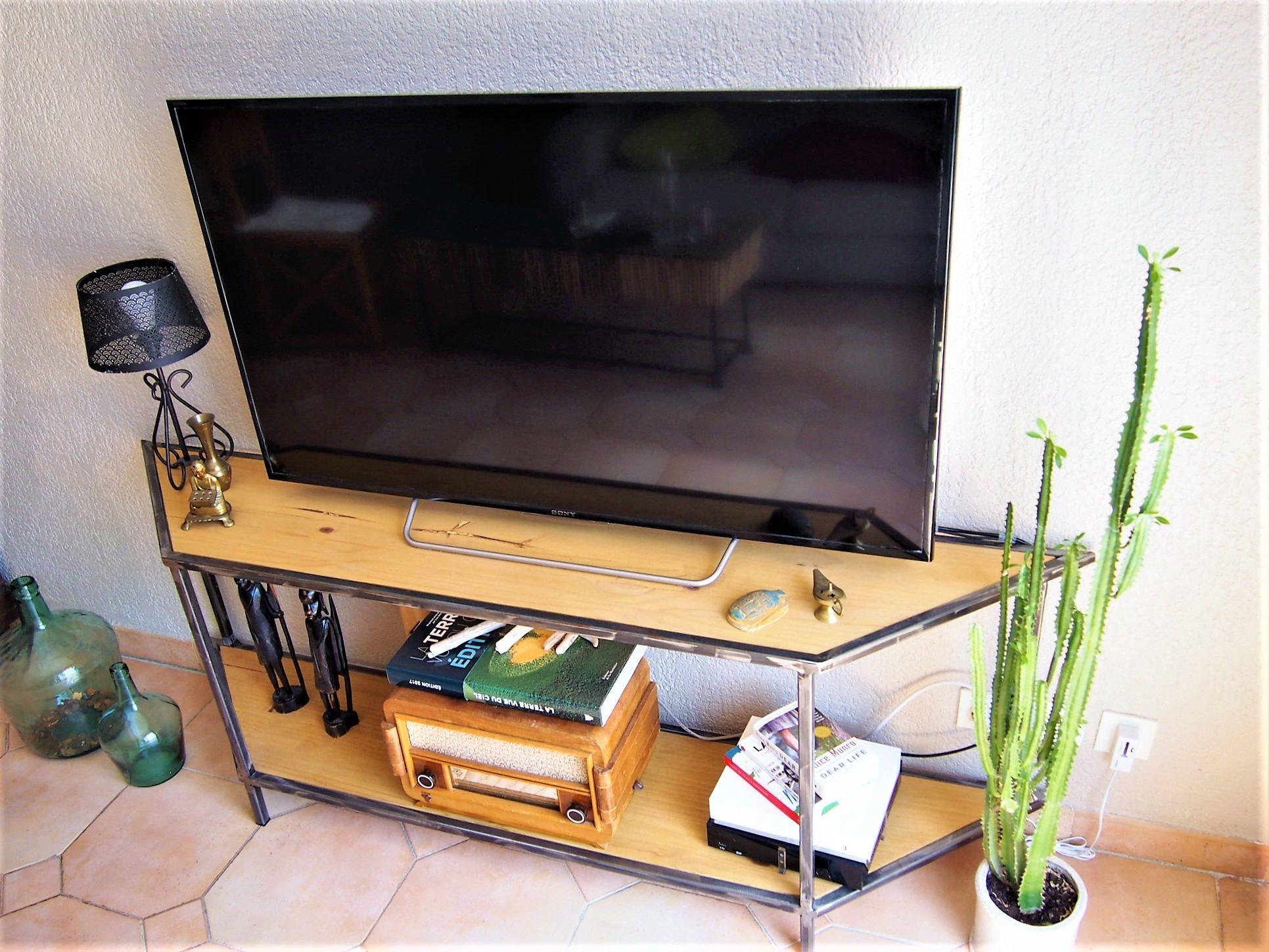 Meuble Meuble Tv Console Tag Re De La Boutique Comessude Sur  # Meuble Tv Console