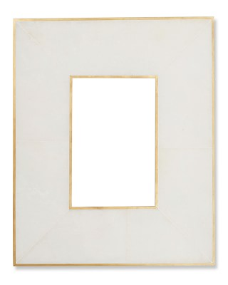 Brass Bordered Stone Picture Frame White Picture Frames Wood Gallery Frames Gallery Wall Frames