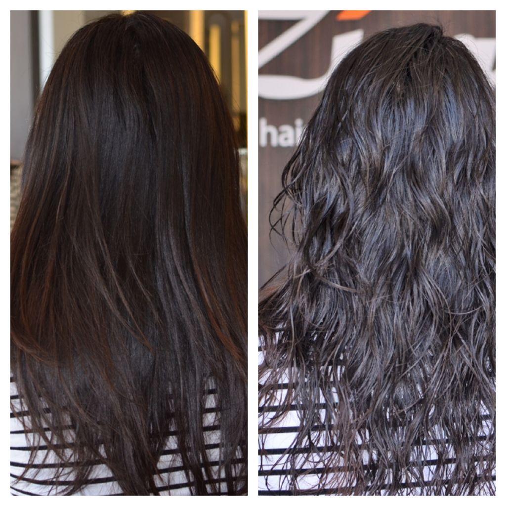 Made By Pic Jointer Heal Hair Digital Perm Puffy Hair