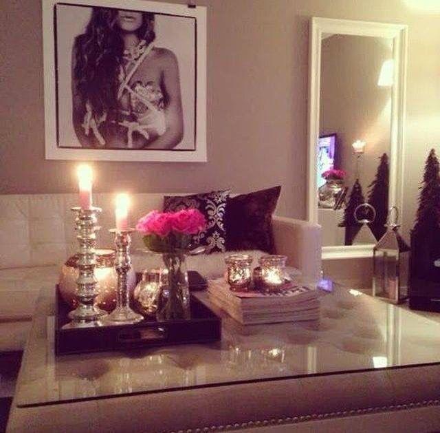 Sala, mesa de centro decoración | Ideas for the House | Pinterest ...