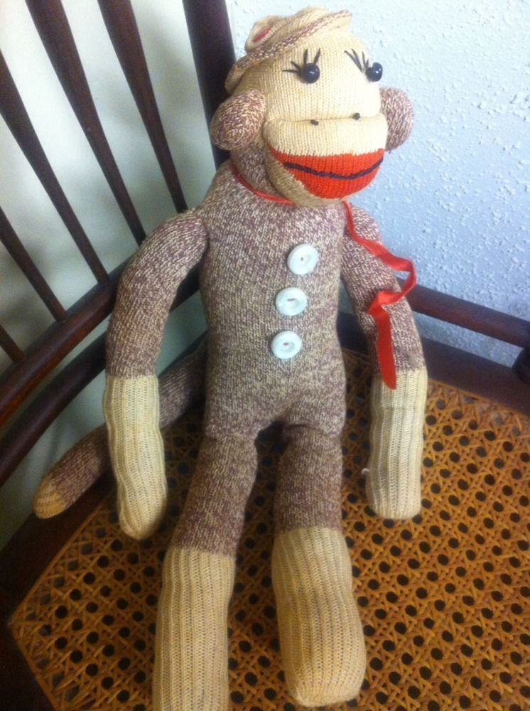 Sock puppy toy vintage opinion