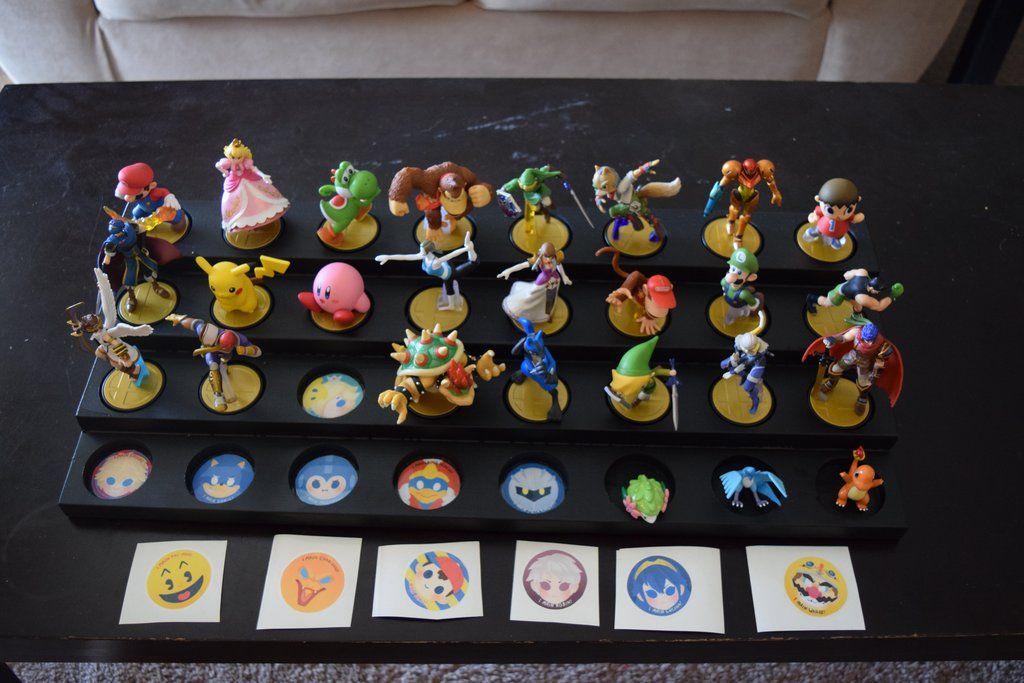 Amiibo Display Stand Videogames Pinterest Nintendo, Super