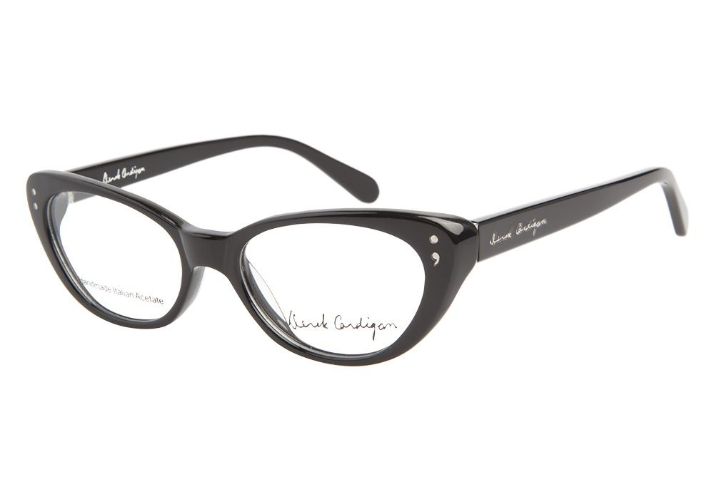 f1e57382c6 These Derek Cardigan 7019 Black eyeglasses have some serious geek chic  style! from  Clearly Contacts