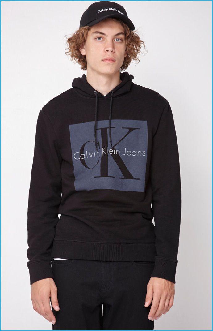 Calvin Klein Collection Embraces Fresh Young Attitude Hoodies Mens Sweatshirts Calvin Klein