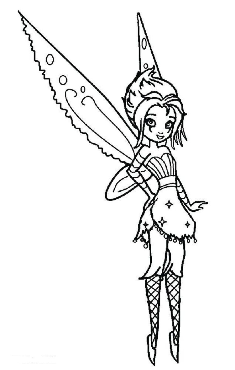 Gothic Fairies Emo Coloring Pages Tinkerbell Coloring Pages Fairy Coloring Fairy Coloring Pages