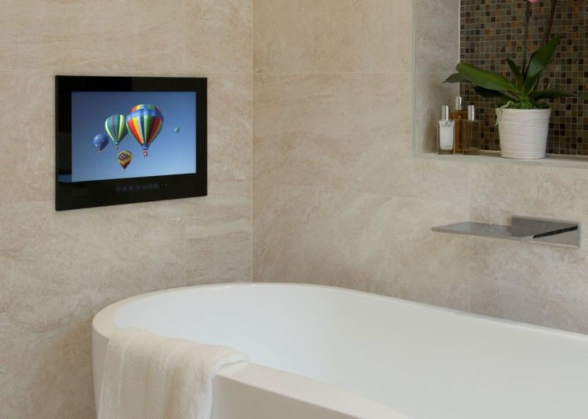 WaterVue 15 Inch Bathroom TV (With images) | Tv in ...