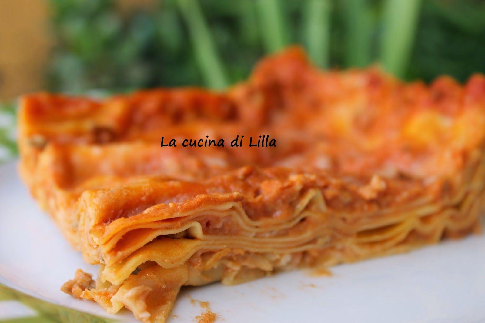 La cucina di Lilla: Pasta Fresca: Lasagne al forno   Pasta ...