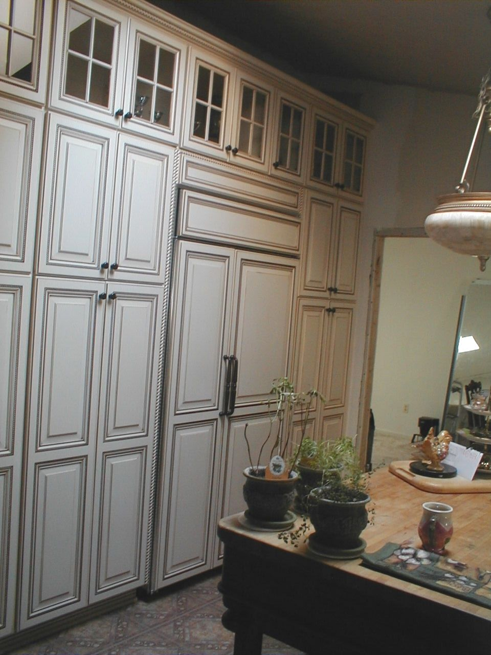 Superb We Can Even Make Your Refrigerator Look Great! Only At Brighton Cabinetry.