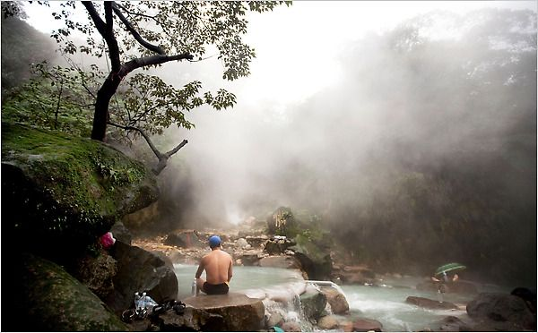 Bayen Hot Springs In Taiwan As Featured The New York Times Travel Section