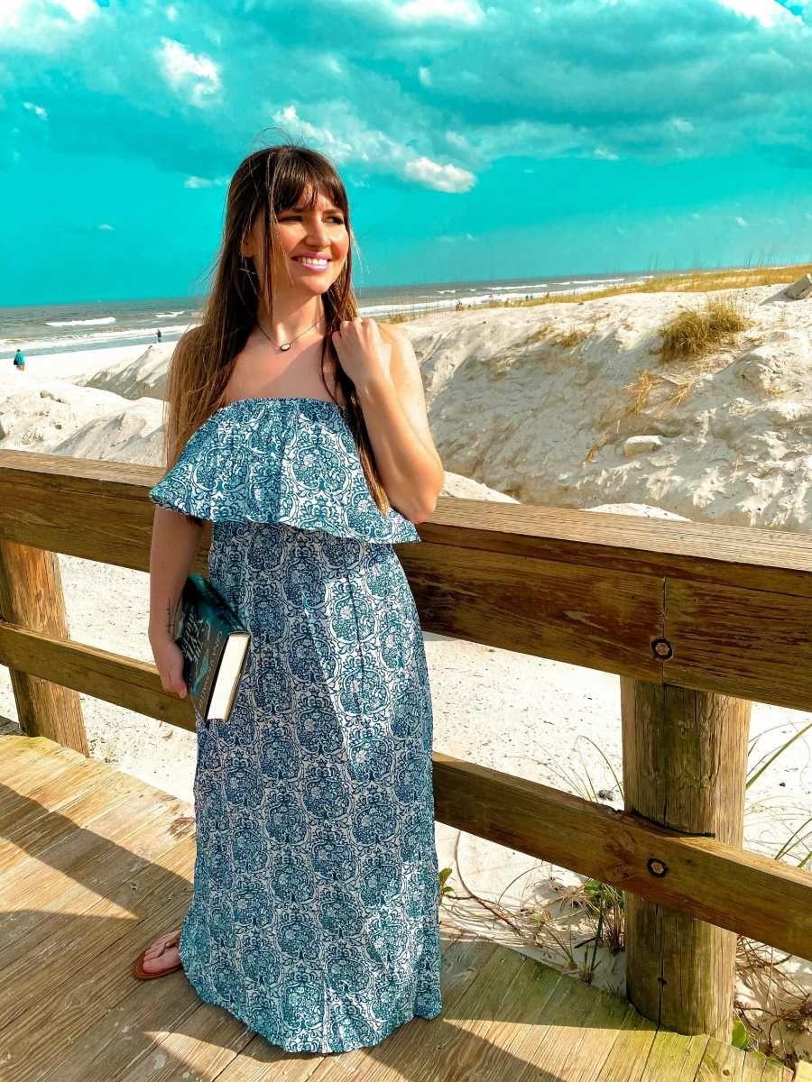 Boho Strapless Maxi Dress In 2021 Maxi Dress Strapless Maxi Dress Flattering Maxi Dress [ 1200 x 900 Pixel ]