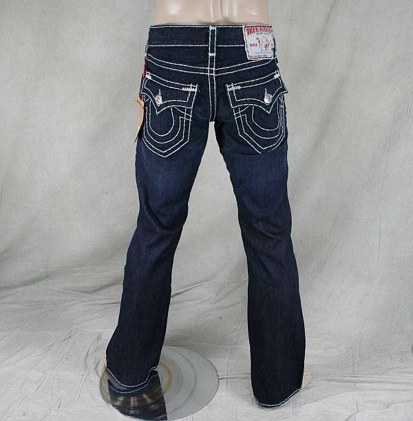 true religion jeans men 39 s billy super t broken trail dark blue 207 threads pinterest. Black Bedroom Furniture Sets. Home Design Ideas