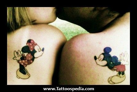 Matching Tattoos For Him And Her Cute matching tattoos for him