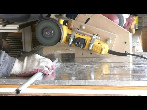 Homemade angle grinder holder with multi functioning action homemade angle grinder holder with multi functioning action youtube greentooth Choice Image