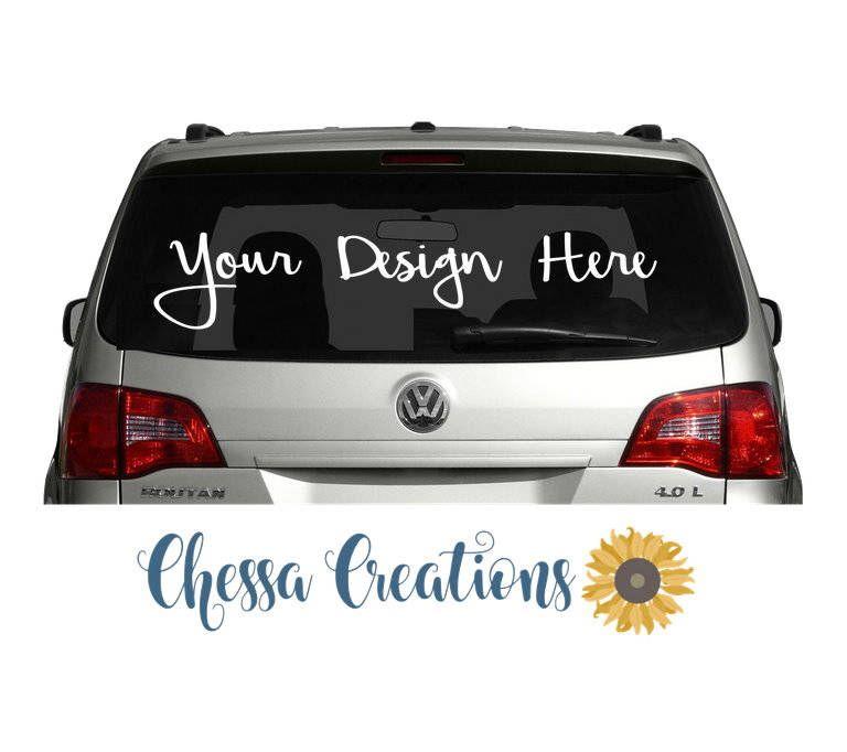 Custom Car Decal Personalized Car Decal Car Decal Monogram Car - Custom car decals business