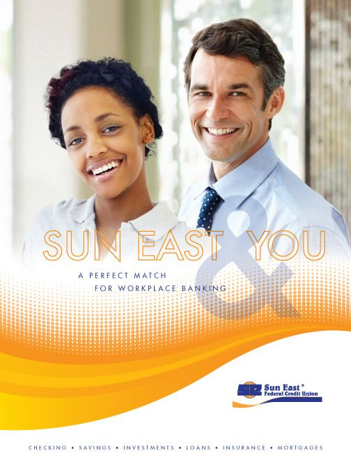 Sun East Federal Credit Union Workplace Banking Pocket Folder