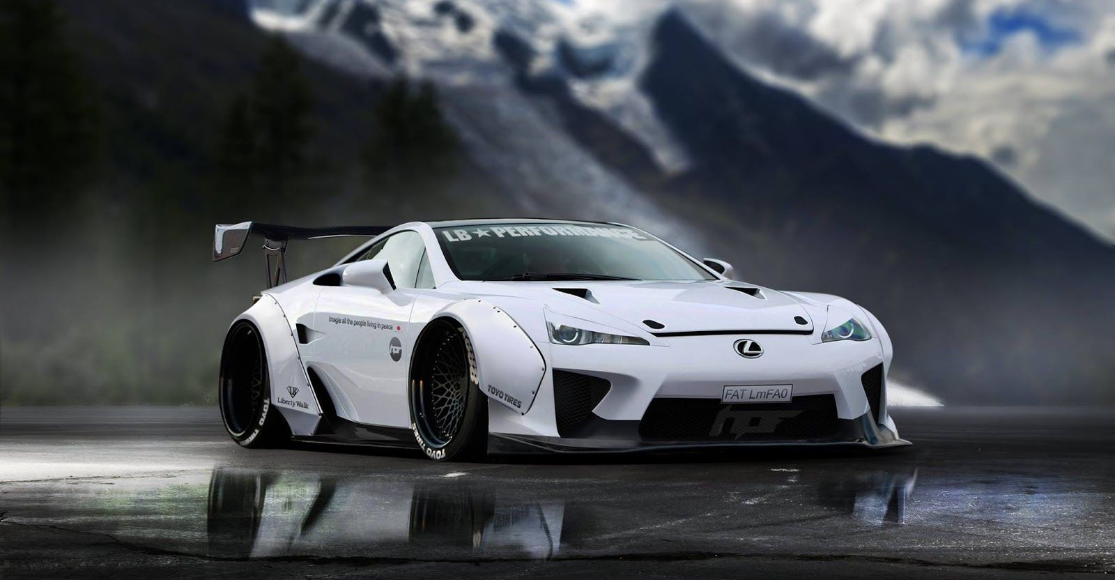 Good Charmant Lexus LFA Gets A Virtual Makeover From Liberty Walk Lexus LFA Has  Been Produced In