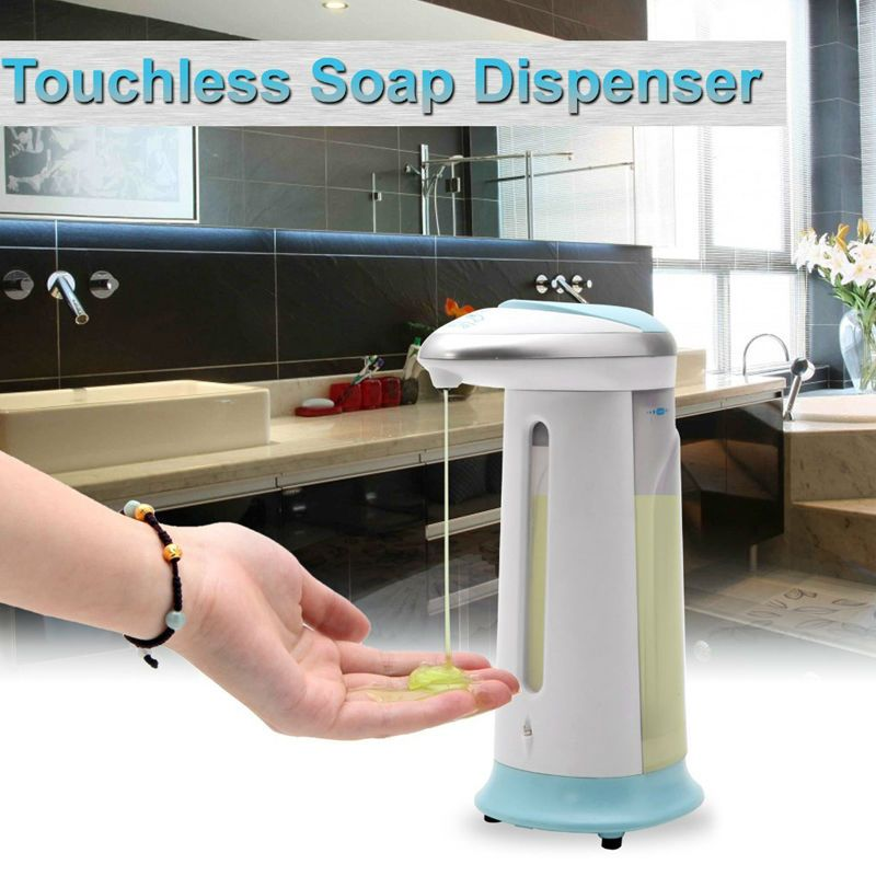 400ml Automatic Magic Sensor Soap Dispenser Handfree Touchless Ir