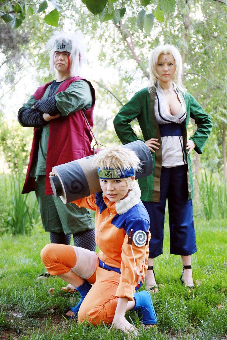 Naruto, Pervy Sage and Lady Tsunade | Anime and Cosplay ...
