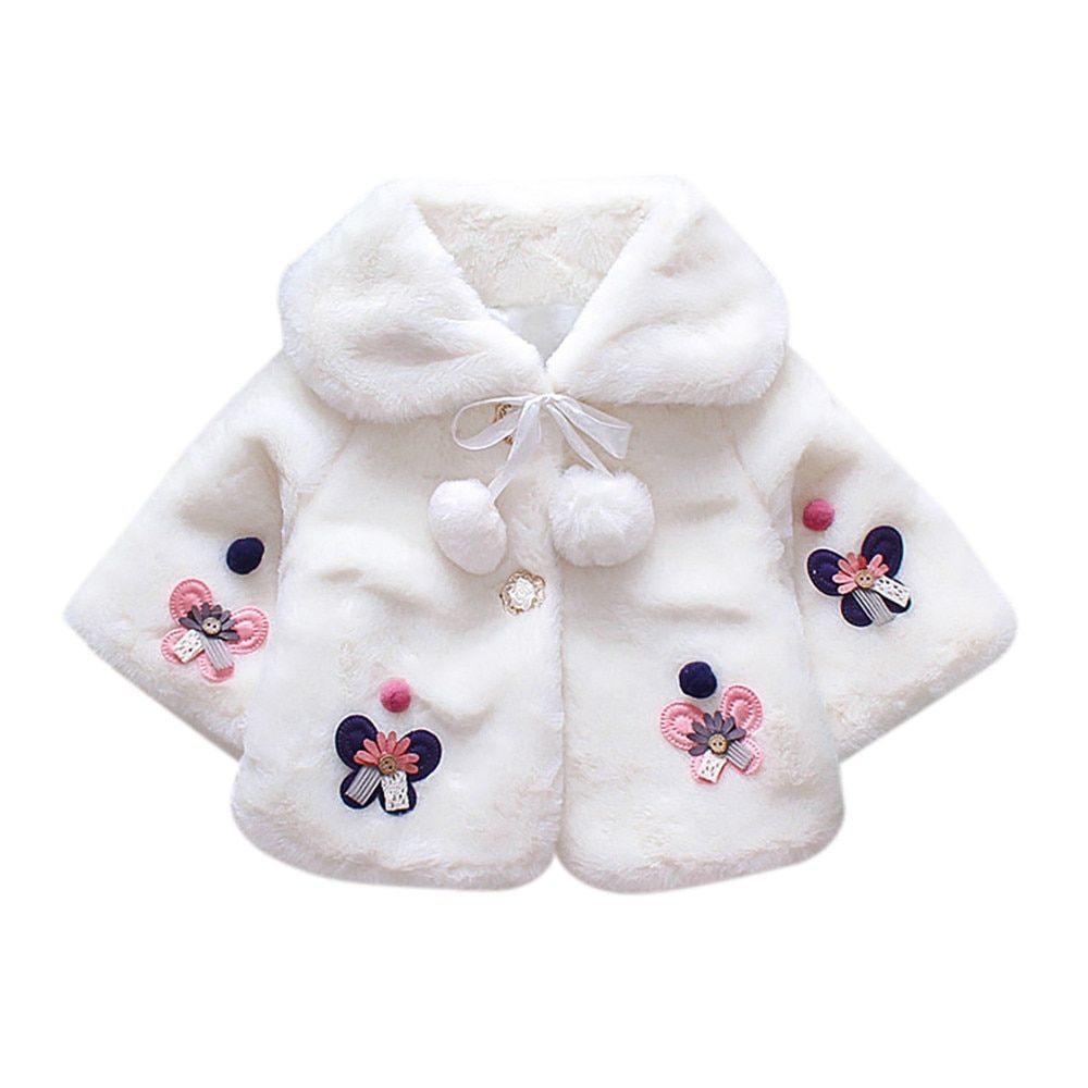 outlet store 51b49 55d0c MUQGEW Winter Baby Infant Girls Autumn Winter Coat Cloak ...