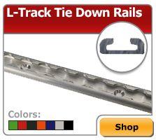 Airline Style L Track Amp L Track Tie Down Rails Image