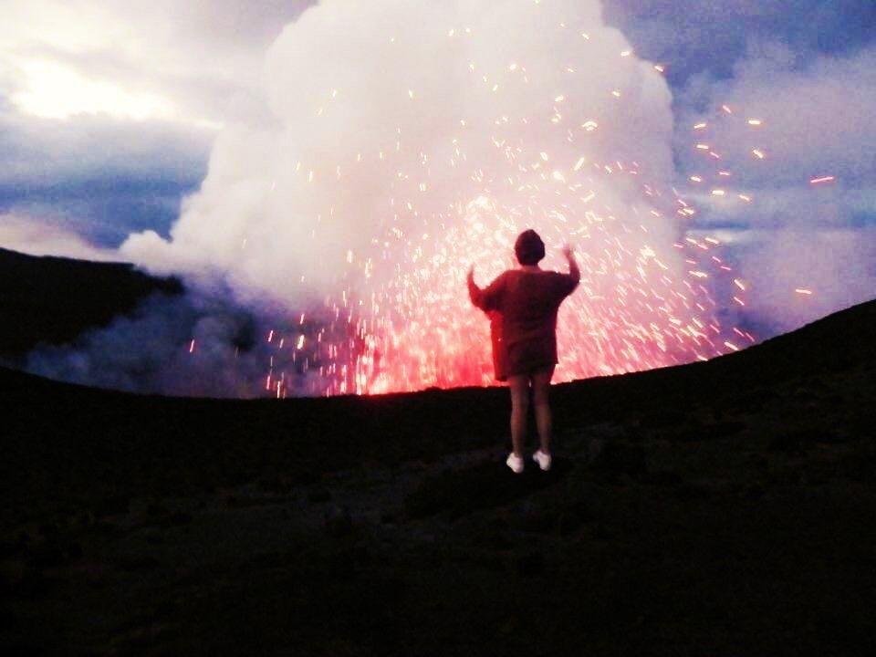 Volcano Magic.  Mt Yasur, Tanna Island, Vanuatu